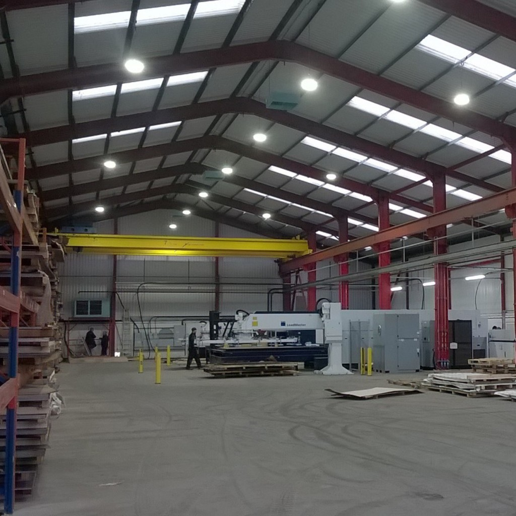 NEW FACTORY SITE FOR EXPRESS LASERS