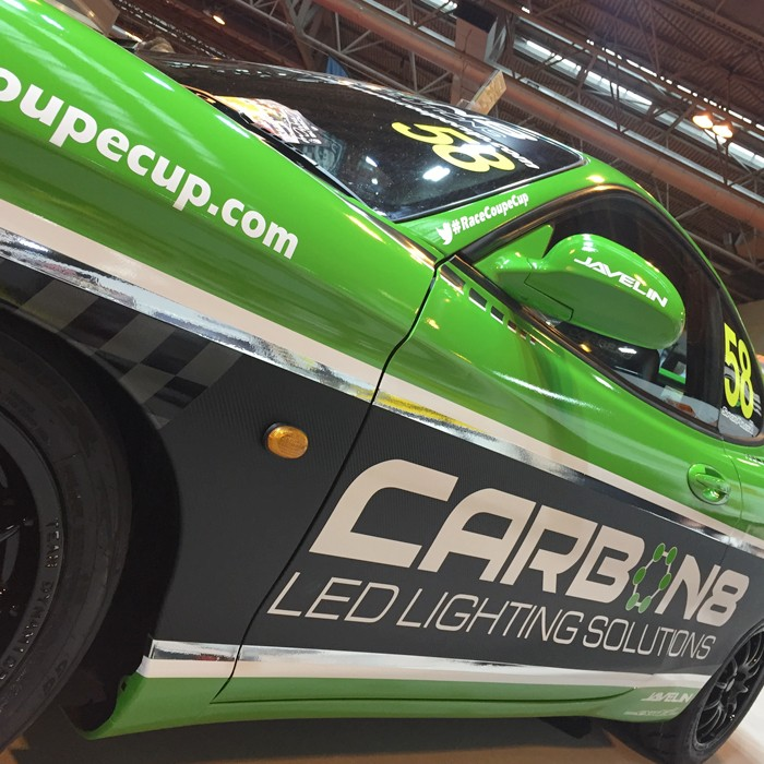 CARBON8 LIGHTING PROVIDE ILLUMINATION AT AUTOSPORT INTERNATIONAL